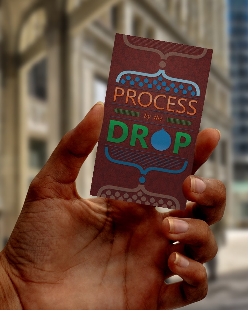 Process by the Drop